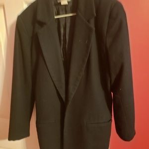 Jackets & Blazers - Black oversized blazer